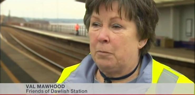 Rail volunteers are local TV stars again