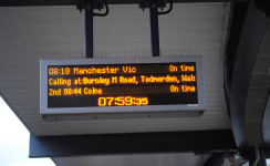 Burnley gets direct trains to Manchester