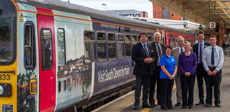 Visit South Devon train launched