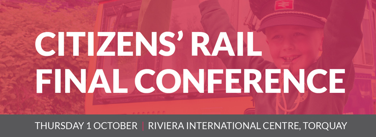 Citizens' Rail final conference