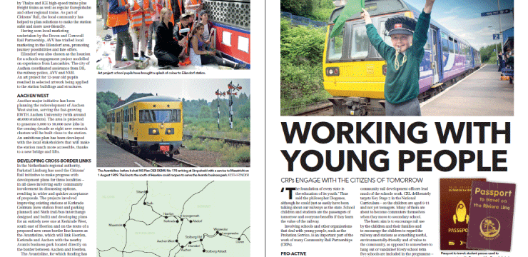 Special report in Modern Railways magazine