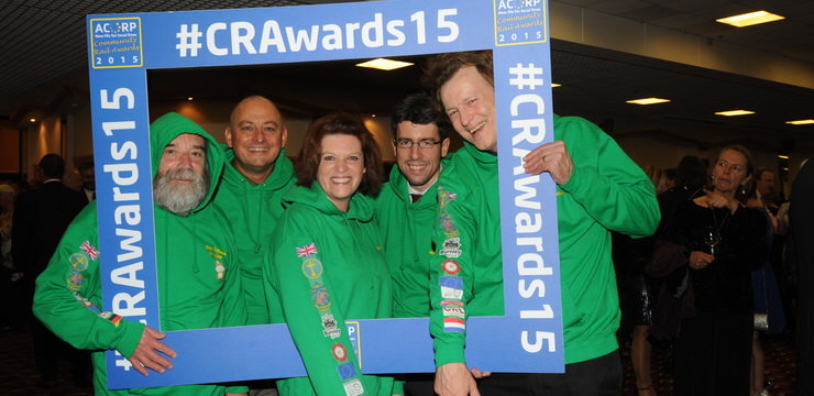 Citizens' Rail recognised at national Community Rail Awards